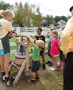 Apple Pressing - Remick Country Doctor Museum & Farm - Tamowrth Village, NH